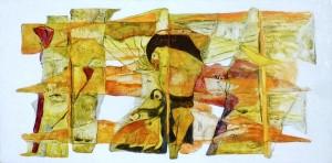 Fresque I (Vendu)